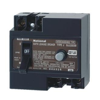 Aptomat chống giật ELB Panasonic BJJ23030-8