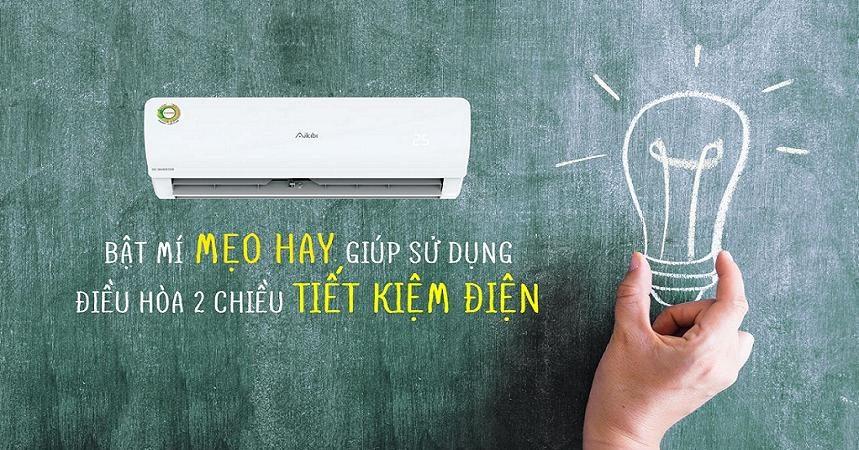 Mẹo giúp tiết kiệm điện cho phòng điều hòa nhiệt độ