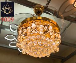 Quạt trần đèn trang trí BQ 9009