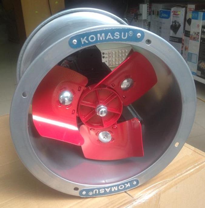 Quạt thông gió công nghiệp Komasu KM30T (Mô tơ tản nhiệt)
