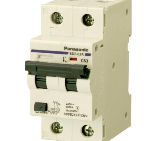 Aptomat chống rò dòng RCBO Panasonic BBDE20631CA