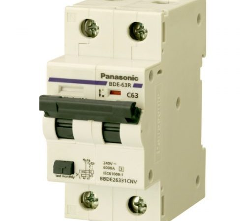 Aptomat chống rò dòng RCBO Panasonic BBDE22031CNV