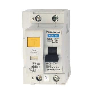 Aptomat chống rò dòng RCBO Panasonic BBDE24031CA